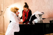 Klavieriki - Konzert im Salon Dreiklang, Berlin 03