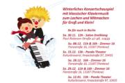 Klavieriki Winterkonzerte: Salon Dreiklang, Zimmer 16, Panda Theater